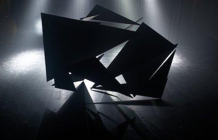 Structure de polygones en suspension
